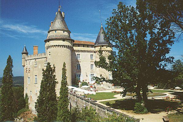 Mercuès : Château