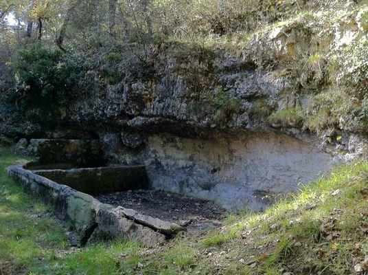 Causse de Lalbenque : La Fontaine de la Rouquette