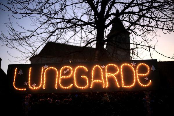 Illuminatiions de Noël à Lunegarde 2015 ©© Laurent Delfraissy 151225-173630