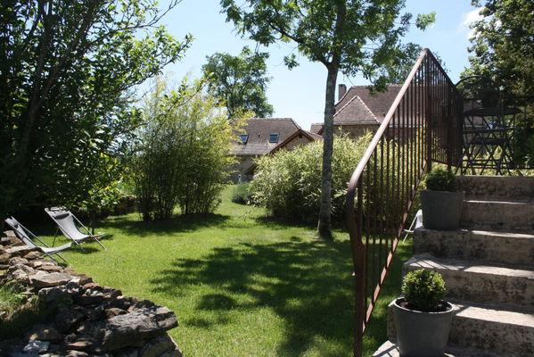 """Jardin Gîte """"l'Orée des Chênes"""" - © Hameau du Quercy -012"""