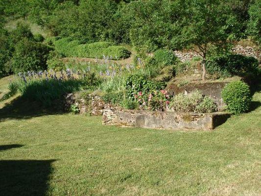 Jardin gite Cahors