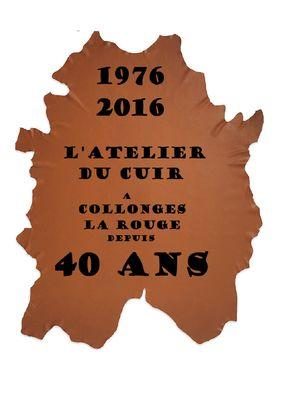 L'Atelier du Cuir - 40 ans - Collonges