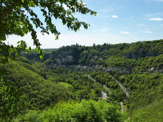 L'hospitalet - Point de vue sur Rocamadour_24 © Lot Tourisme - C. Sanchez