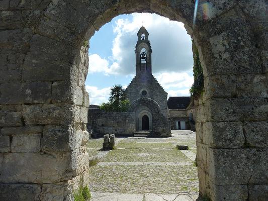 L'hopitalet - Chapelle vue des Ruines de l'hôpital St Jean_01 © Lot Tourisme - C. Sanchez