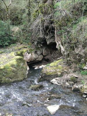 """Théminettes : Une des """"Pertes"""" du Ruisseau du Francès"""