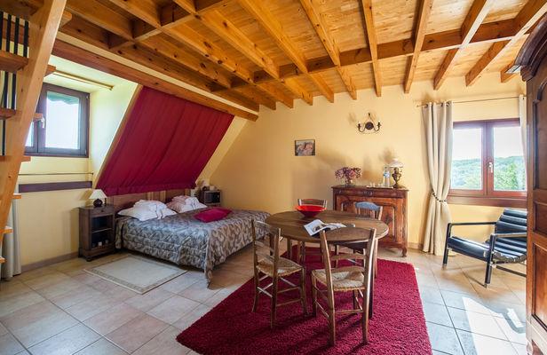 La Villa Touloumo - Mayrac - Chambre Rocamadour - 1