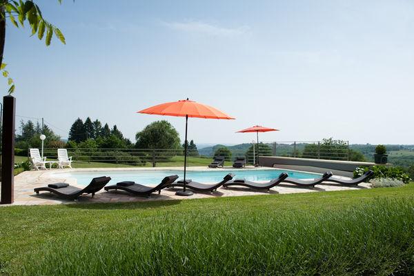 La Villa Touloumo - Mayrac - La piscine