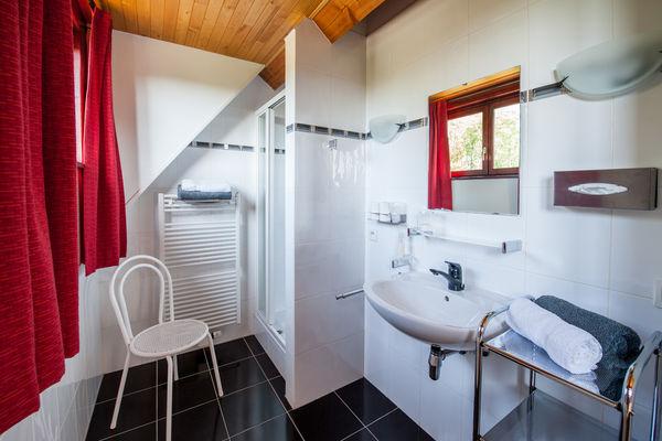 La Villa Touloumo - Mayrac - Salle de bain, Chambre Rocamadour