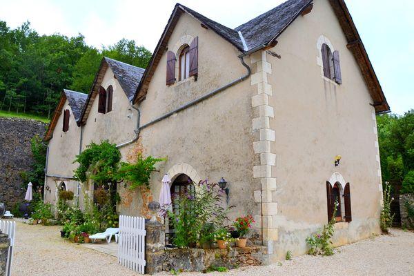 Le Manoir - Souillac - jardin