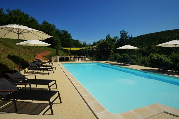 Le Manoir - Souillac - piscine