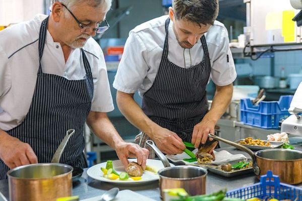 Le sablier du temps_Argentat_cuisiniers