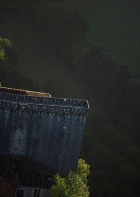 Les remparts de Rocamadour -1