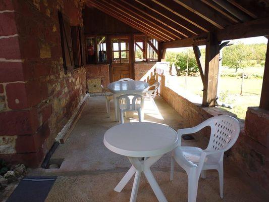 Location chez Paul et Alice - Collonges - terrasse 4