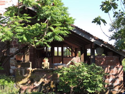 Location chez Paul et Alice - Collonges - terrasse
