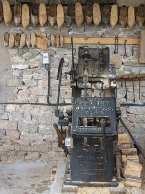 MACHINE À SABOT