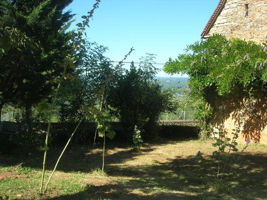 Magnagues, le jardin