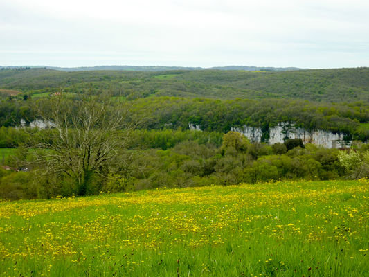 Miramont - Grandes étendues surplombant la vallée © Lot Tourisme - C. Sanchez