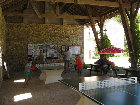 Moulin de Laborde - ping pong