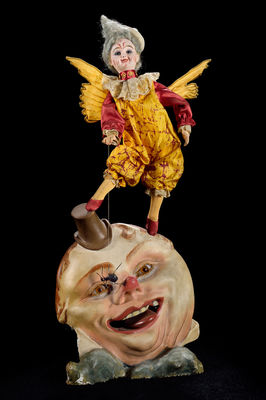 Musée de l automate- le clown sur la lune