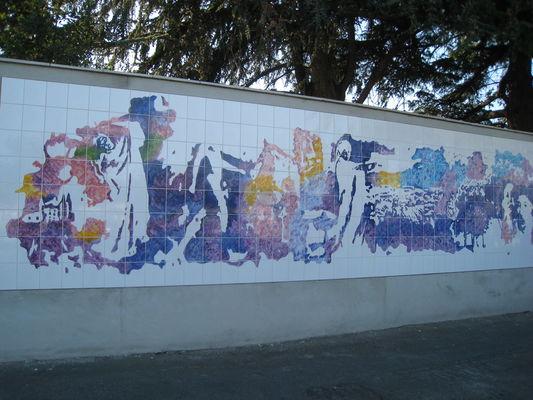 Nadine Velard-Huillet 5 Fresque murale 10mêtres