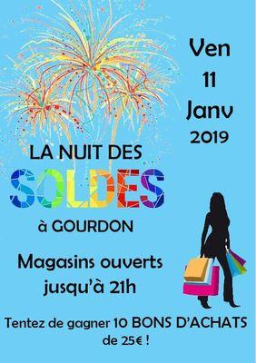 Nuit des Soldes Gourdon 2019