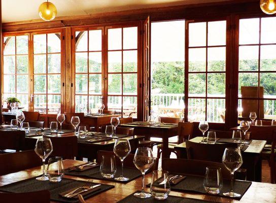 Restaurant Hotel des grottes à Cabrerets