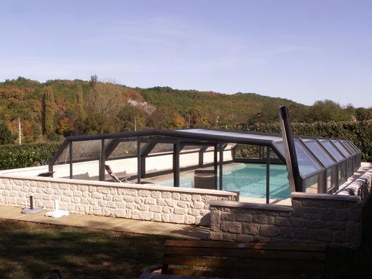 piscine avec couverture