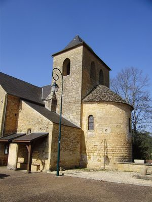 Saint Cirq Madelon : Eglise Saint Georges