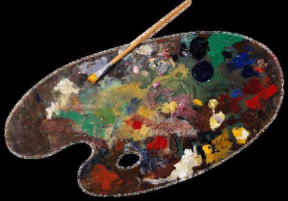 palette peinture