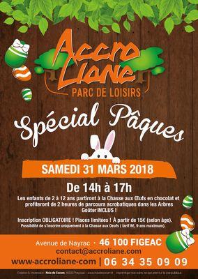Pâques ACCROLIANE 2018