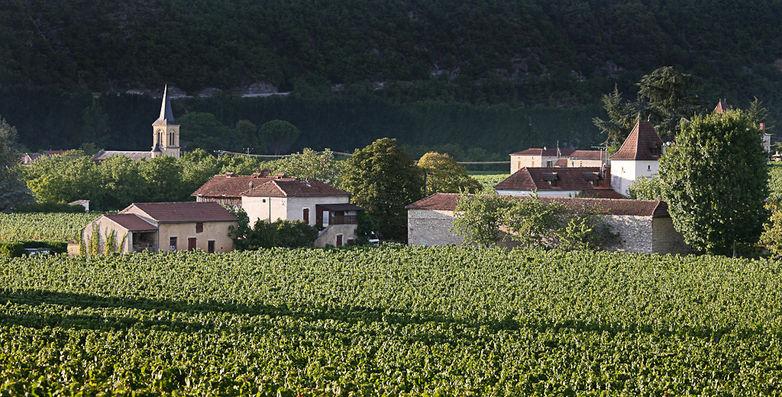 Parnac vignes et village © Lot Tourisme - J. Morel