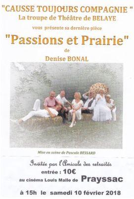 Passions et Prairies
