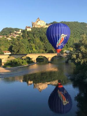 Périgord Dordogne Montgolfières et la Dordogne