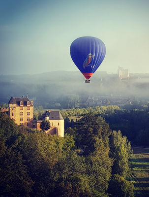 Périgord Dordogne Montgolfières et les châteaux