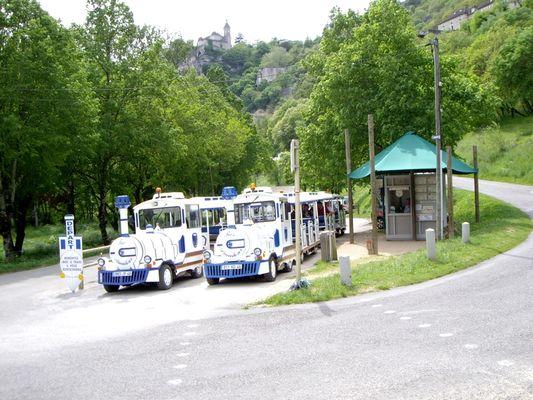 Petit Train Rocamadour - Gare