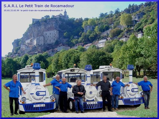 Petit Train Rocamadour - Equipe