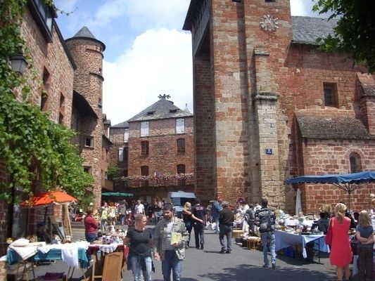 Photo Brocante 14 Juillet Meyssac