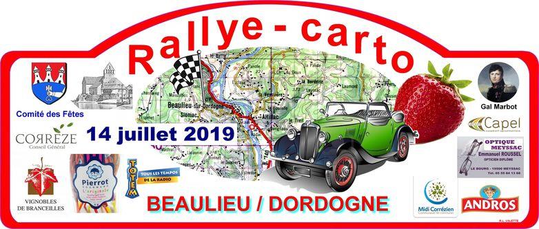 Plaque rallye 2019 - 10