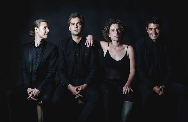 Quatuor Anches Hantées @MaximedeBolivier