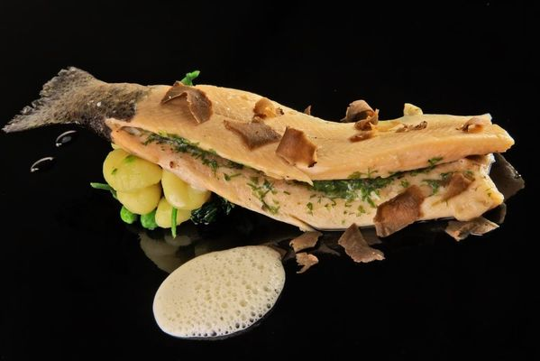 Restaurant  le Chateau-Rocamadour-Truite