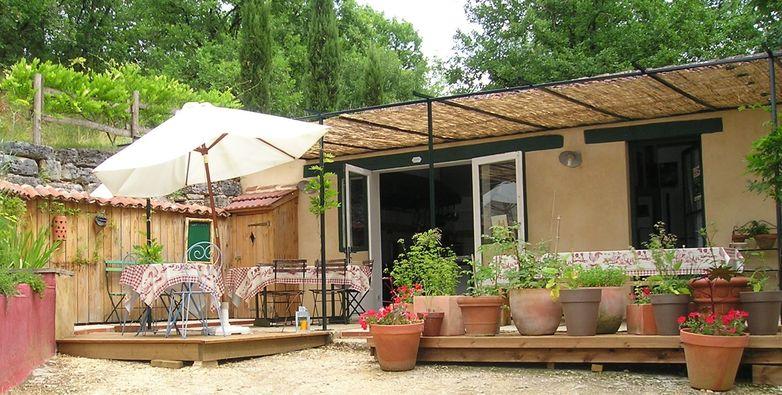 Restaurant L'atelier de la Fontaine - terrasse
