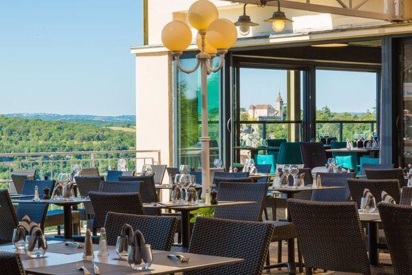 Restaurant Le Belvédère-terrasse