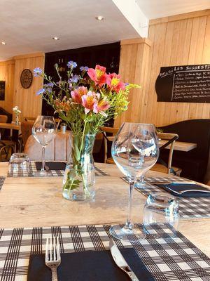 Restaurant Le Quercy-Souillac-table