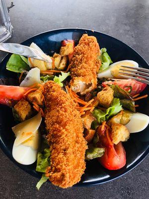 Restaurant Le Quercy-Souillac-salade