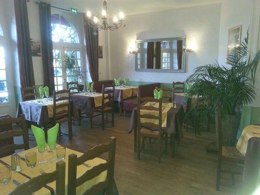 Restaurant Le bellevue Gourdon Salle