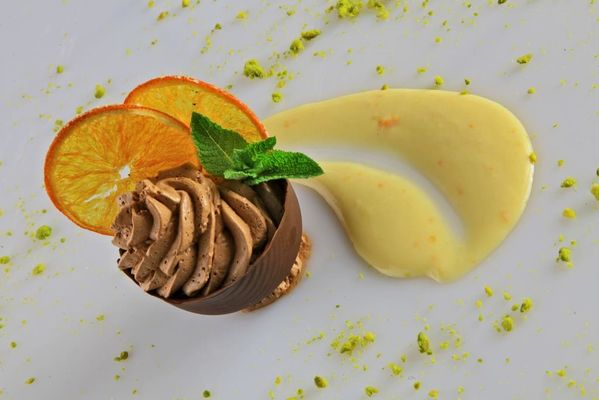 Restaurant le Chateau-Rocamadour-Coque Chocolat