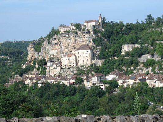 Rocamadour depuis le Belvédère