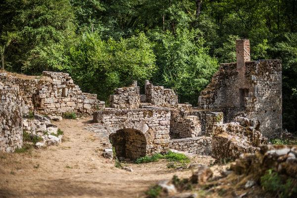 Rocamadour - Ruines du Moulin de Tournefeuille © Lot Tourisme - C. ORY