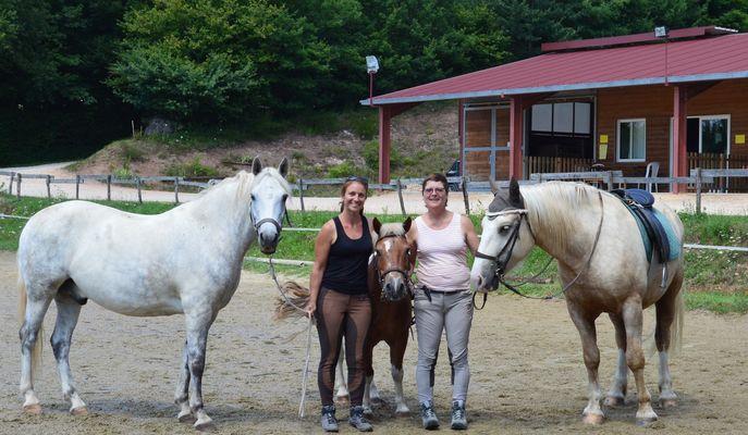 Saint cere equitation clublaure fabienne poneys zoom