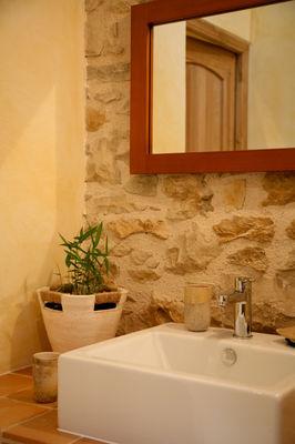 Salle de bain - Suite Natur'ailes - © C.Dubarry - Hameau du Quercy -003